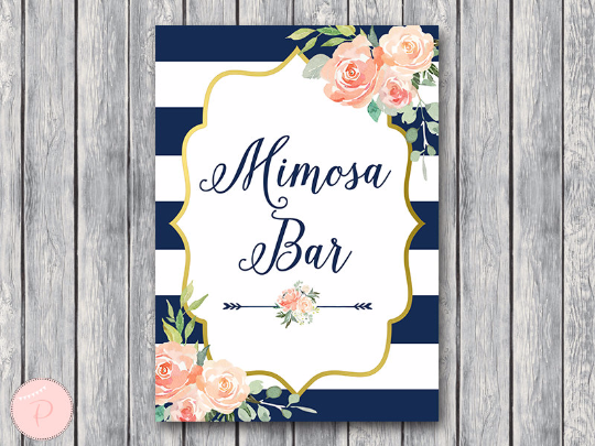 boho-navy-gold-mimosa-bar-sign-nvy