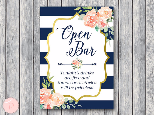 boho-navy-gold-open-bar-sign-nvy