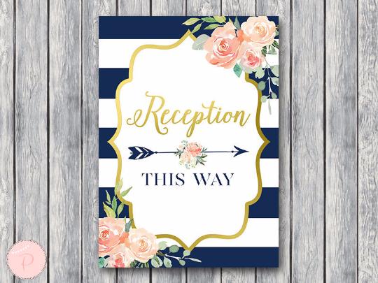 boho-navy-gold-reception-sign-gld