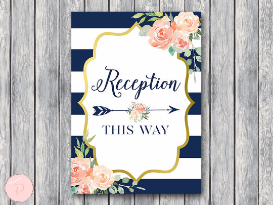 boho-navy-gold-reception-sign-nvy