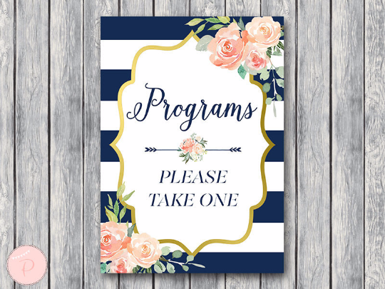 boho-navy-gold-wedding-programs-sign-nvy