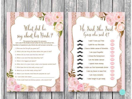 rose-gold-floral-bridal-shower-games-what-did-groom-say-about-his-bride
