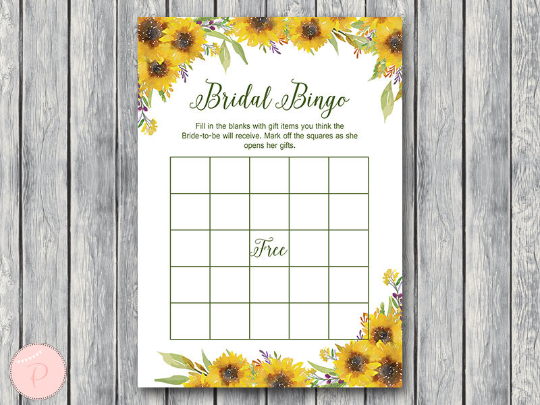 sunflower-summer-bridal-shower-bingo-printable