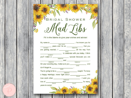 sunflower-summer-bridal-shower-mad-libs