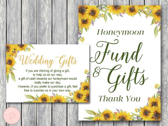sunflower-summer-honeymoon-fund-card-and-sign-wedding-gift