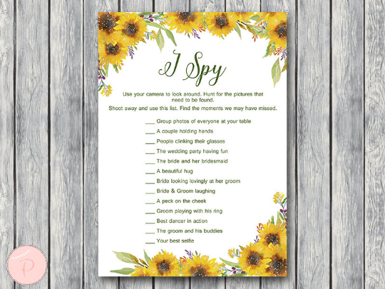 sunflower-summer-i-spy-wedding-scavenger-game