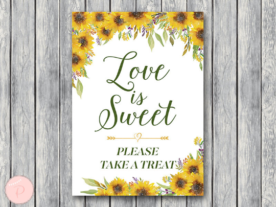 sunflower-summer-love-is-sweet-take-a-treat-sign