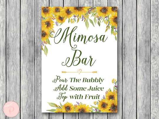 sunflower-summer-mimosa-bar-sign-bubbly-bar-sign