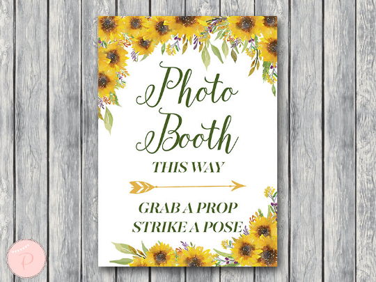 sunflower-summer-photobooth-sign-grab-a-prop-and-take-a-pose