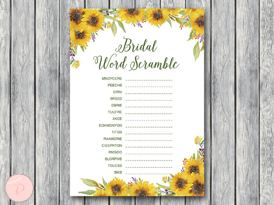 sunflower-summer-word-scramble-bridal-printable