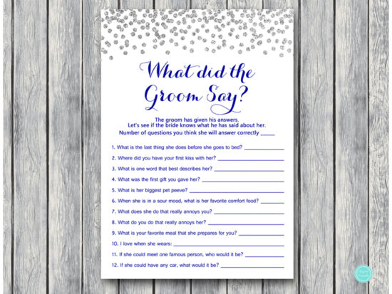 th63-what-did-groom-say-5x7-navy-royal-blue-and-silver-bridal-shower-games