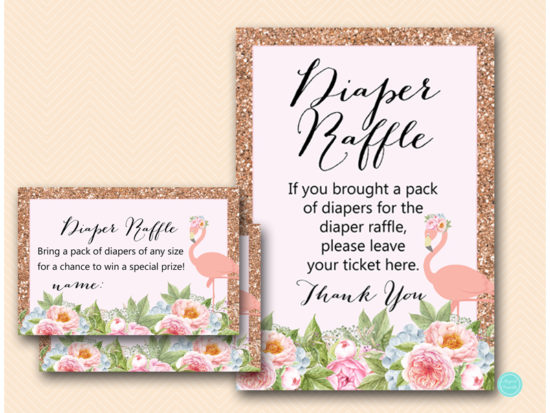tlc544-diaper-raffle-sign-rose-gold-flamingo-baby-shower