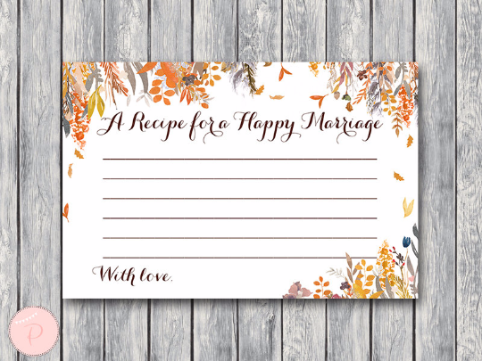 autumn-fall-a-recipe-for-a-happy-marriage-printable-card