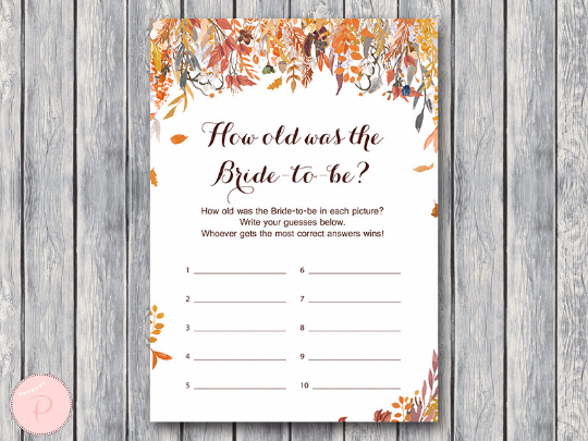 autumn-fall-how-old-was-the-bride-to-be-bridal-shower-game