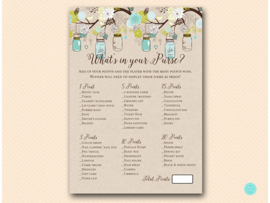 bs48-whats-in-your-purse-teal-mason-jars-bridal-shower-hen-party