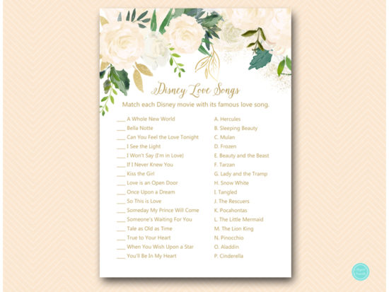 bs530b-disney-love-songs-match-bluff-floral-bridal-shower-cards