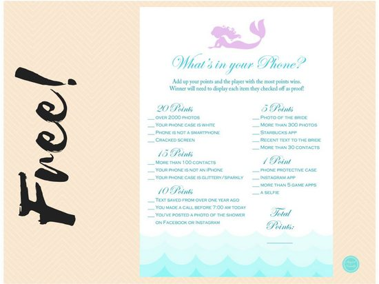 free-mermaid-bridal-shower-cellphone-game