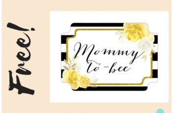 free-yellow-floral-mommy-to-bee-chair-banner