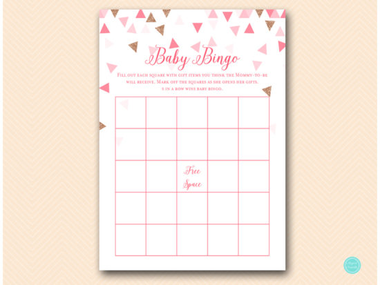 tlc553-bingo-rose-gold-pink-geometric-baby-shower-game