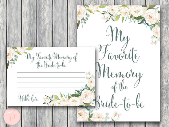 ivory-floral-elegant-bridal-shower-favorite-memory-of-bride