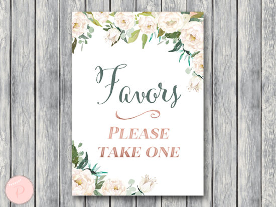 ivory-wedding-table-sign-favors-please-take-one