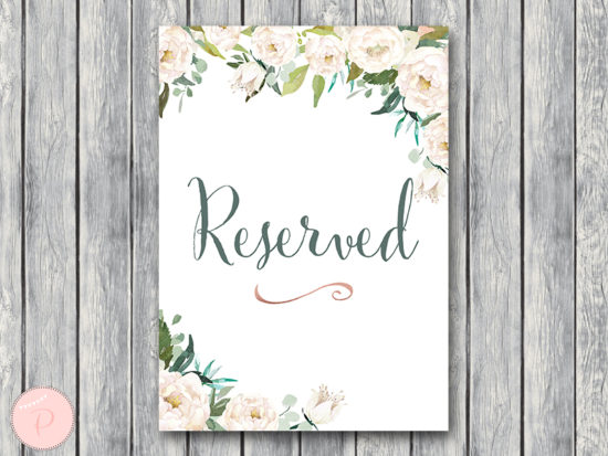 ivory-white-elegant-wedding-reserved-sign