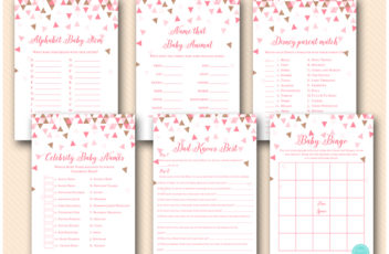 rose-gold-pink-geometric-baby-shower-game-triangles-1