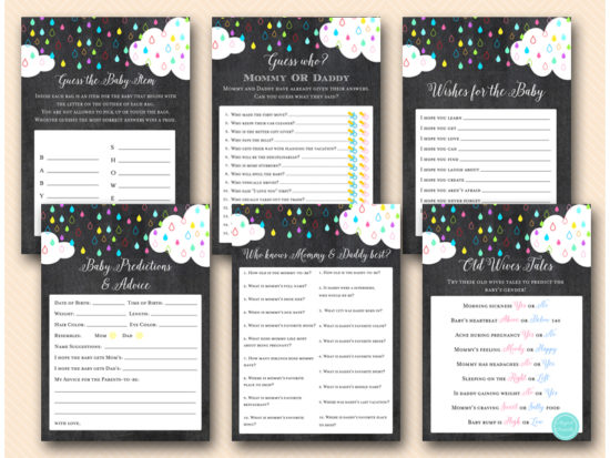 c-rainbow-baby-shower-theme-games-package-download