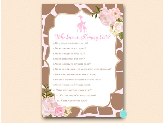 tlc563-who-knows-mommy-best-pink-giraffe-baby-shower-games