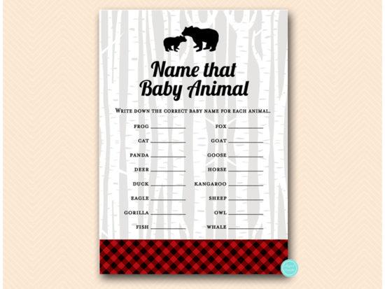 tlc564-animal-baby-names-lumberjack-baby-shower-games
