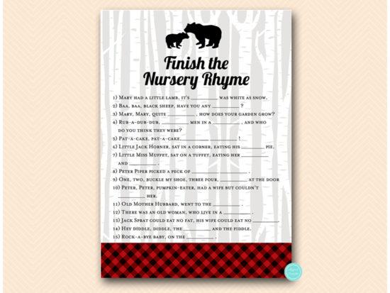 tlc564-nursery-rhyme-quiz-lumberjack-baby-shower-games