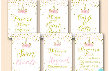 pink-gold-unicorn-baby-shower-decoration-signs-printables