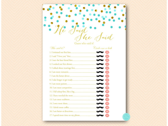 bs534t-he-said-she-said-b-tiffany-blue-and-gold-bridal-bachelorette-game