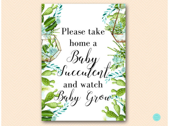 sn519-watch-baby-grow-succulent-baby-shower-sign