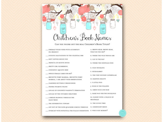 tlc146c-childrens-book-name-aqua-coral-mason-jars-baby-shower