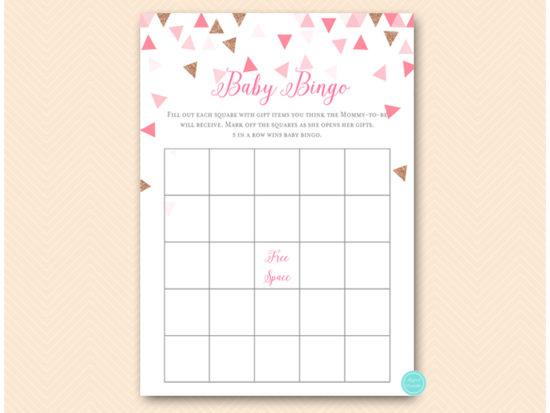 tlc567p-bingo-baby-gifts-pink-rose-gold-geometric-baby-shower