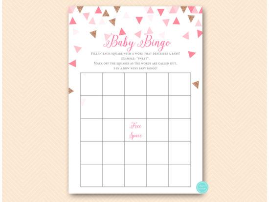 tlc567p-bingo-words-to-describe-pink-rose-gold-geometric-baby-shower