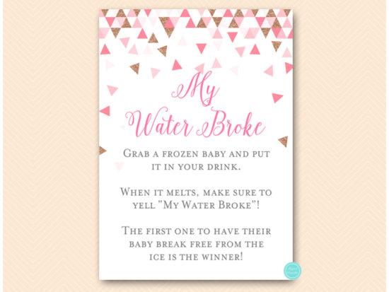 tlc567p-my-water-broke-pink-rose-gold-geometric-baby-shower
