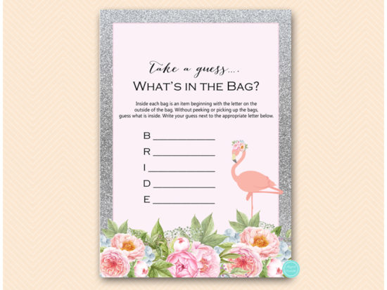 bs130s-whats-in-the-bag-bride-silver-flamingo-bridal-shower-game
