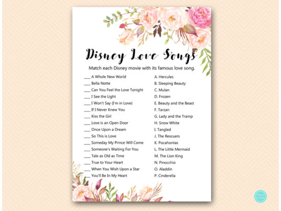 bs546-disney-love-songs-boho-floral-bridal-shower-game