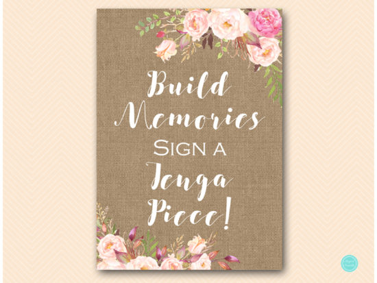 bs546b-sign-build-memories-sign-jenga-boho-floral-burlap-table-signs