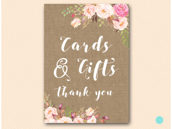 bs546b-sign-cards-gifts-boho-floral-burlap-table-signs