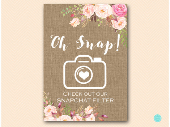 bs546b-sign-snapchat-filter-boho-floral-burlap-table-signs