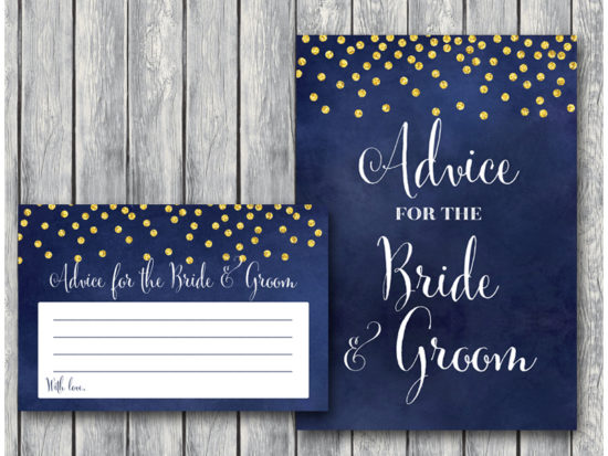 bs571-advice-for-bride-groom-sign-night-sky-gold-bridal-shower