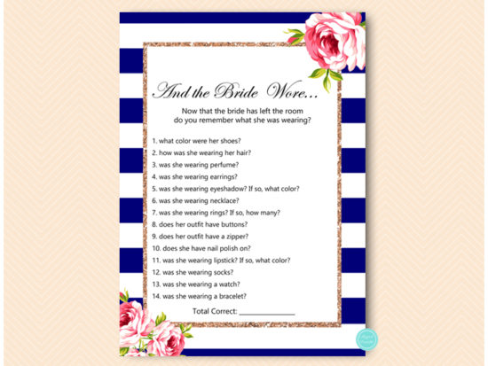 bs572 what did bride wear navy rose gold