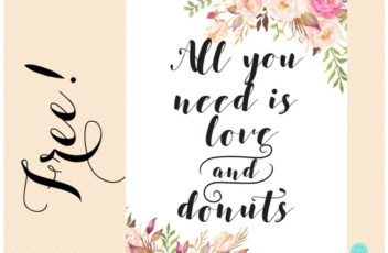 free-boho-all-you-need-is-love-and-donut