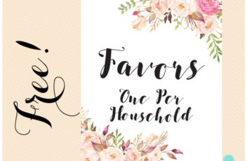 free-favors-one-per-household-sign