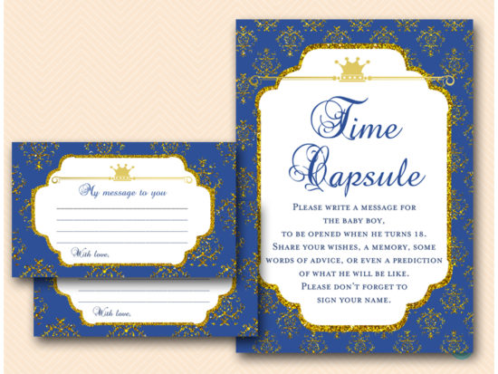 tlc109-time-capsule-sign-navy-royal-prince-baby-shower-game