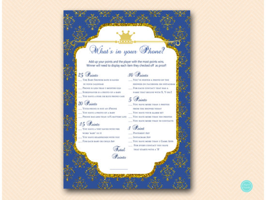 tlc109-whats-in-your-phoneb-navy-royal-prince-baby-shower-game