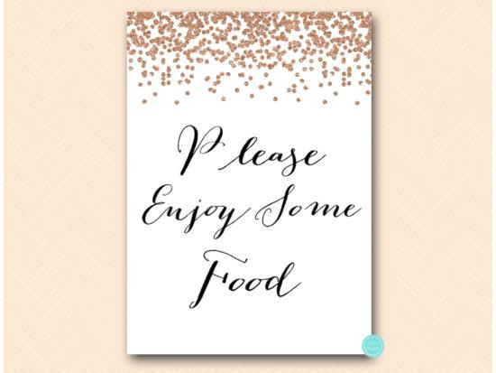 bs155-sign-enjoy-some-food-rose-gold-bridal-shower-sign